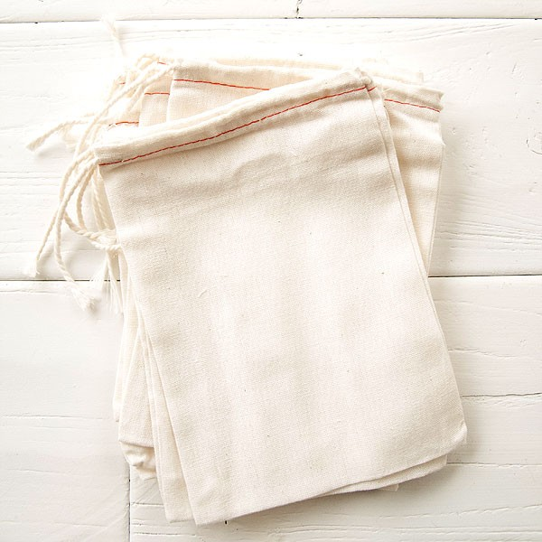 COTTON DRAWSTRING BAGS -FEJ01