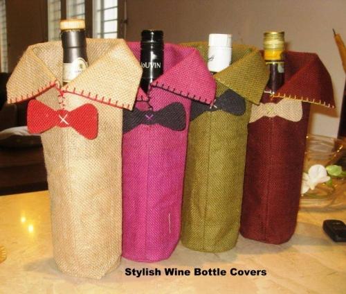 JUTE WINE BAGS -FEF01