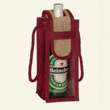 JUTE WINE BAGS -FEF04