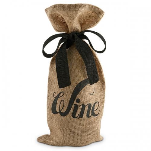 JUTE WINE BAGS -FEF14