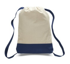 two-tone-backpack-cotton-drawstring-bags